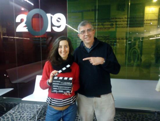 Emma Villavecchia, espectadora 1.000.000, i Esteve Riambau